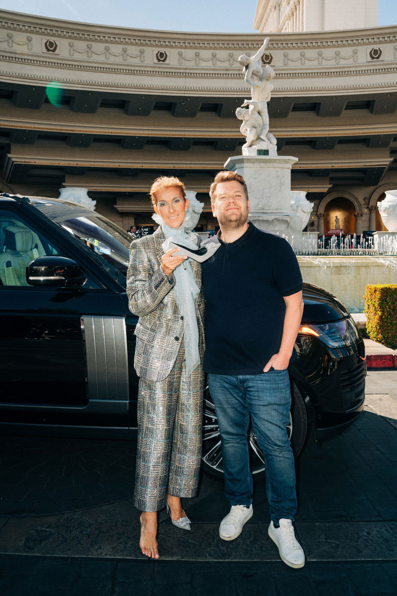 Celine Dion James Corden Carpool Karaoke