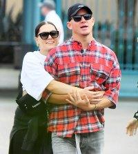 Channing Tatum Jessie J Disneyland Date PDA