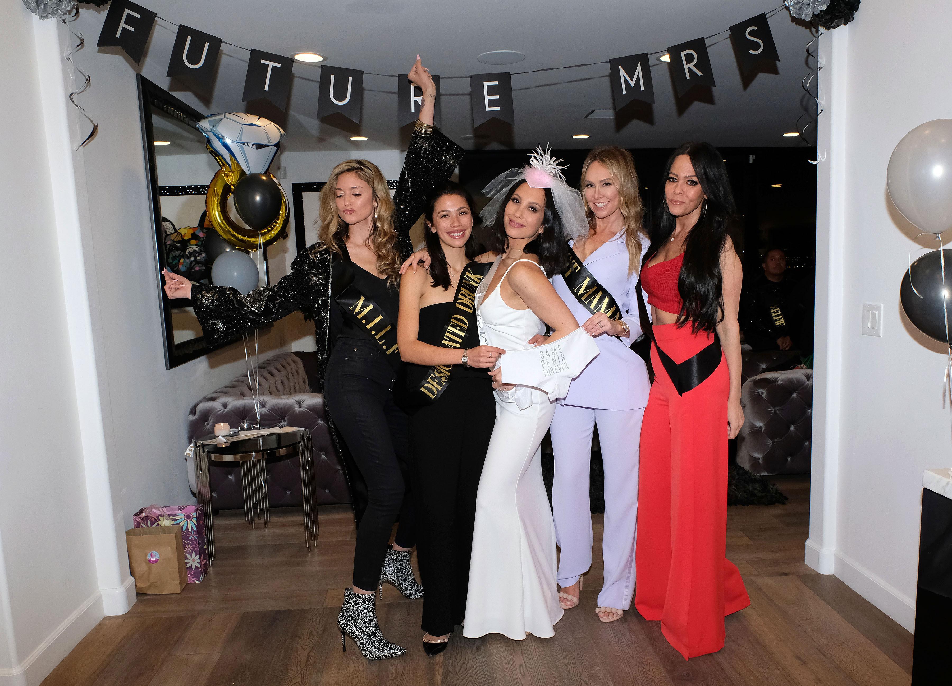 4578028db4 Cheryl Burke Celebrates Bachelorette Party With Kym Johnson: Pics