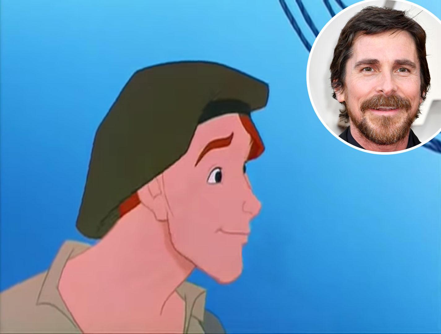 Christian Bale Pocahontas Thomas Voice Over Disney and Pixar Characters - Thomas in Pocahontas (1995)