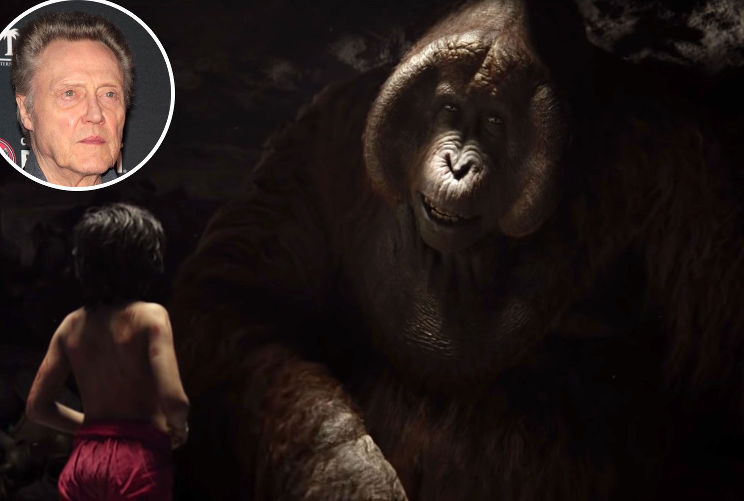 Christopher Walken Jungle Book King Louie Voice Over Disney and Pixar Characters - King Louie in The Jungle Book (2016)