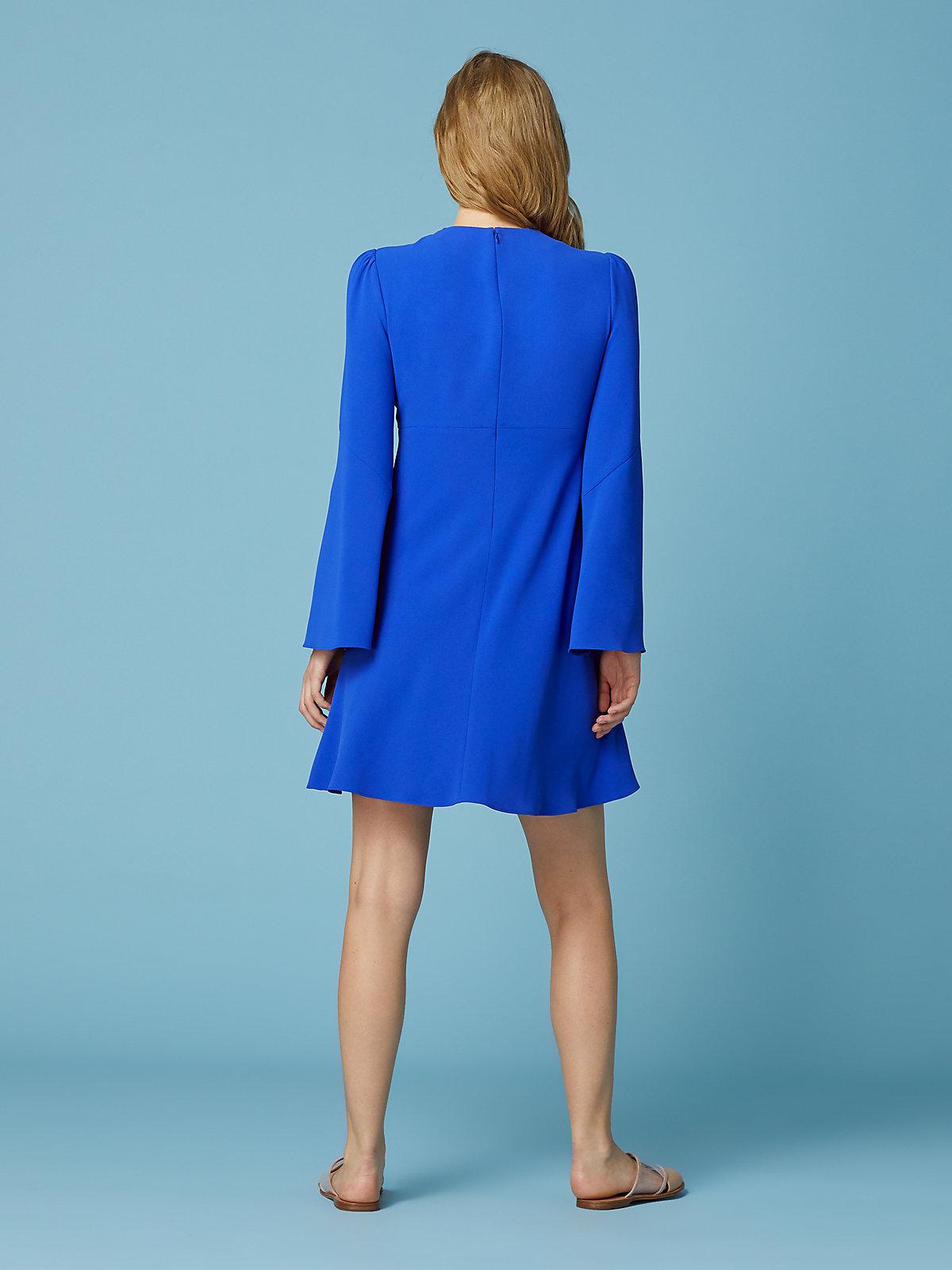 DVF Dress Back