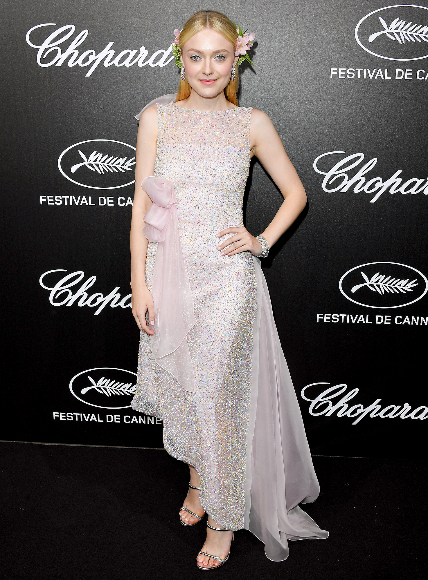 Dakota-Fanning - CANNES, FRANCE – MAY 20: Dakota Fanning attends the The Chopard Trophy event during the 72nd annual Cannes Film Festival on May 20, 2019 in Cannes, France. (Photo by George Pimentel/WireImage)