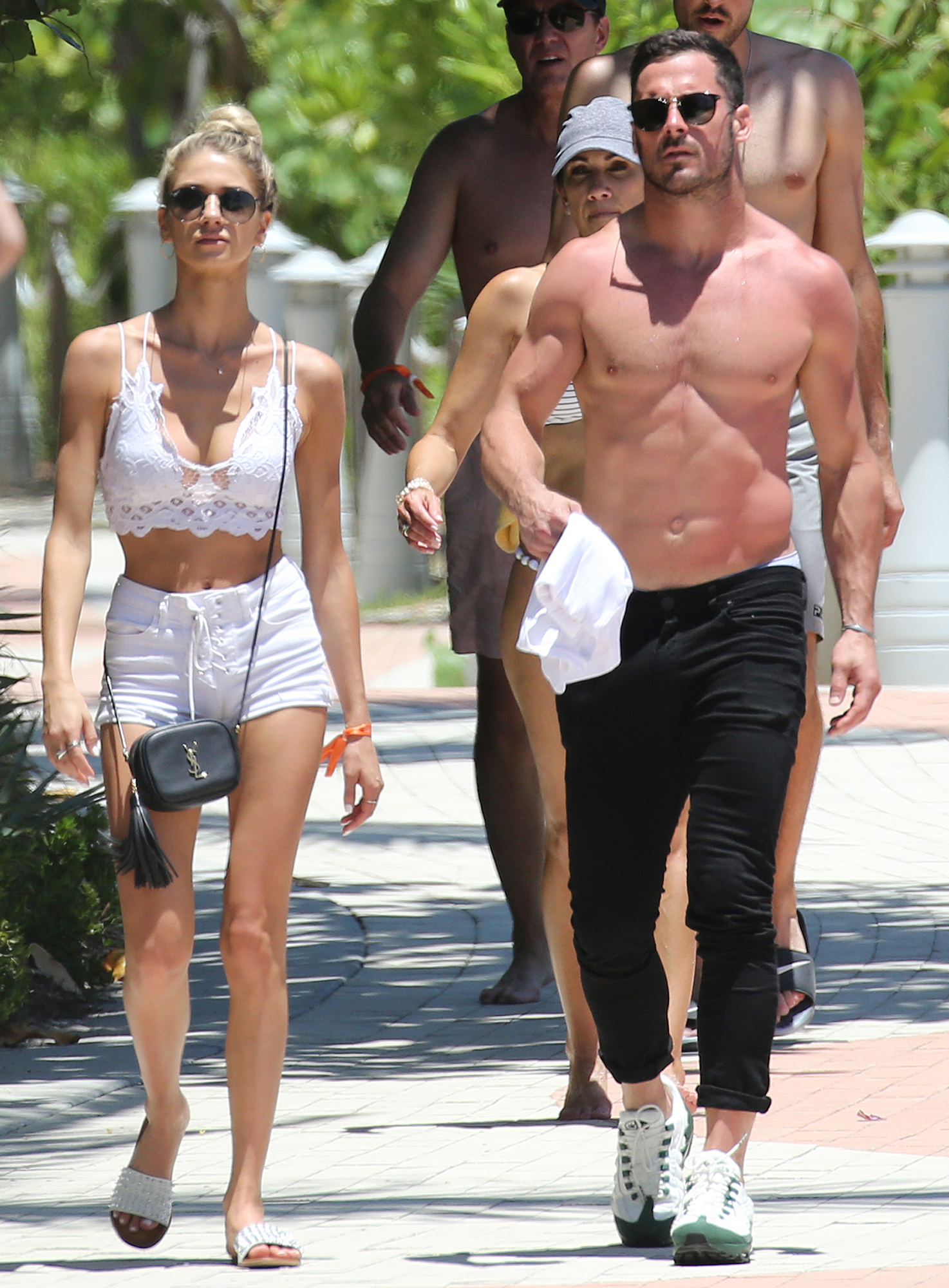 Danny Amendola With Mystery Blonde as Olivia Culpo Parties With Zedd - Amendola and his friend kept a low profile in sunglasses as they strolled to breakfast.