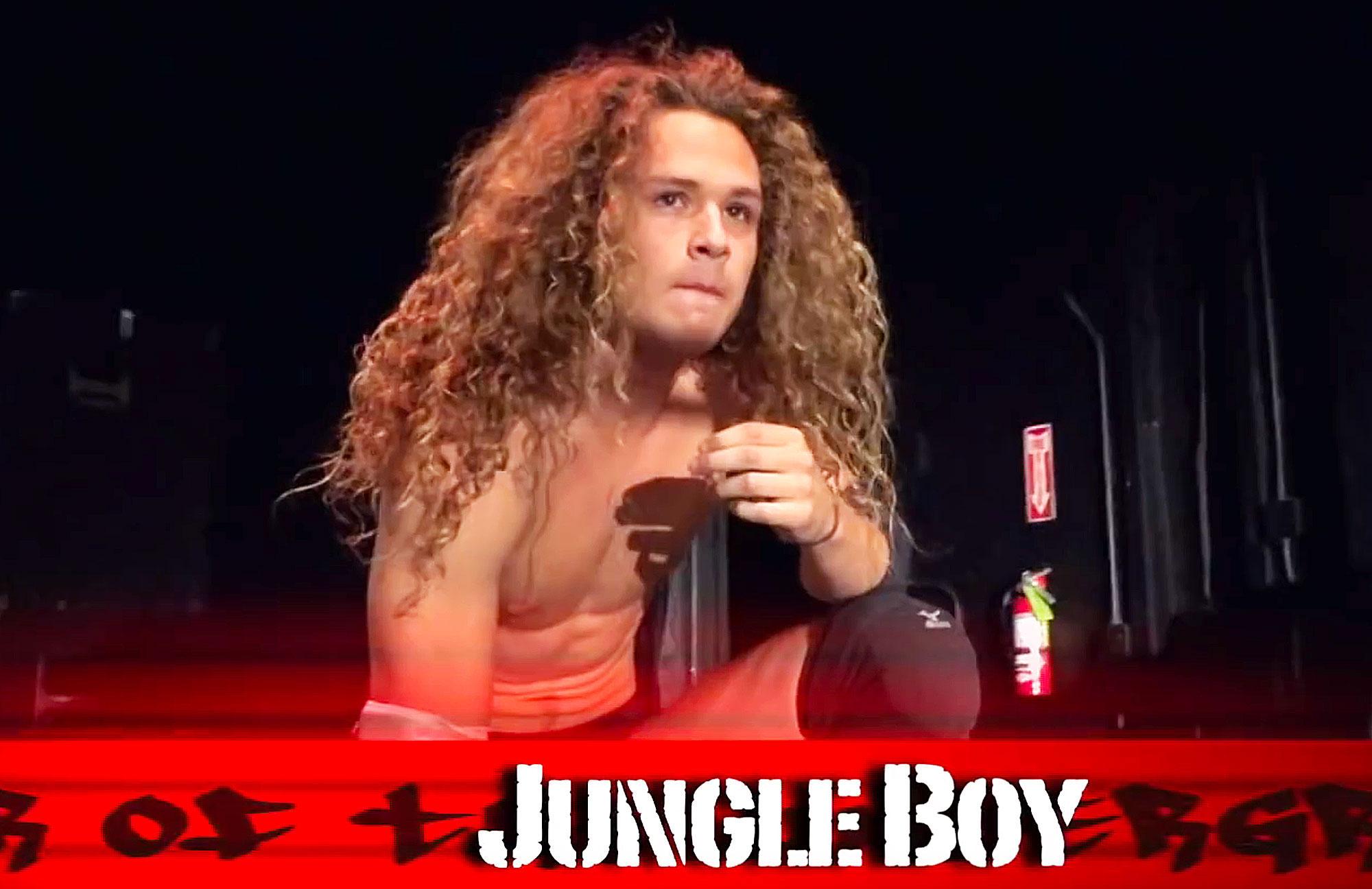 David Arquette Jungle Boy Luke Perry Son Tribute Wrestling Match