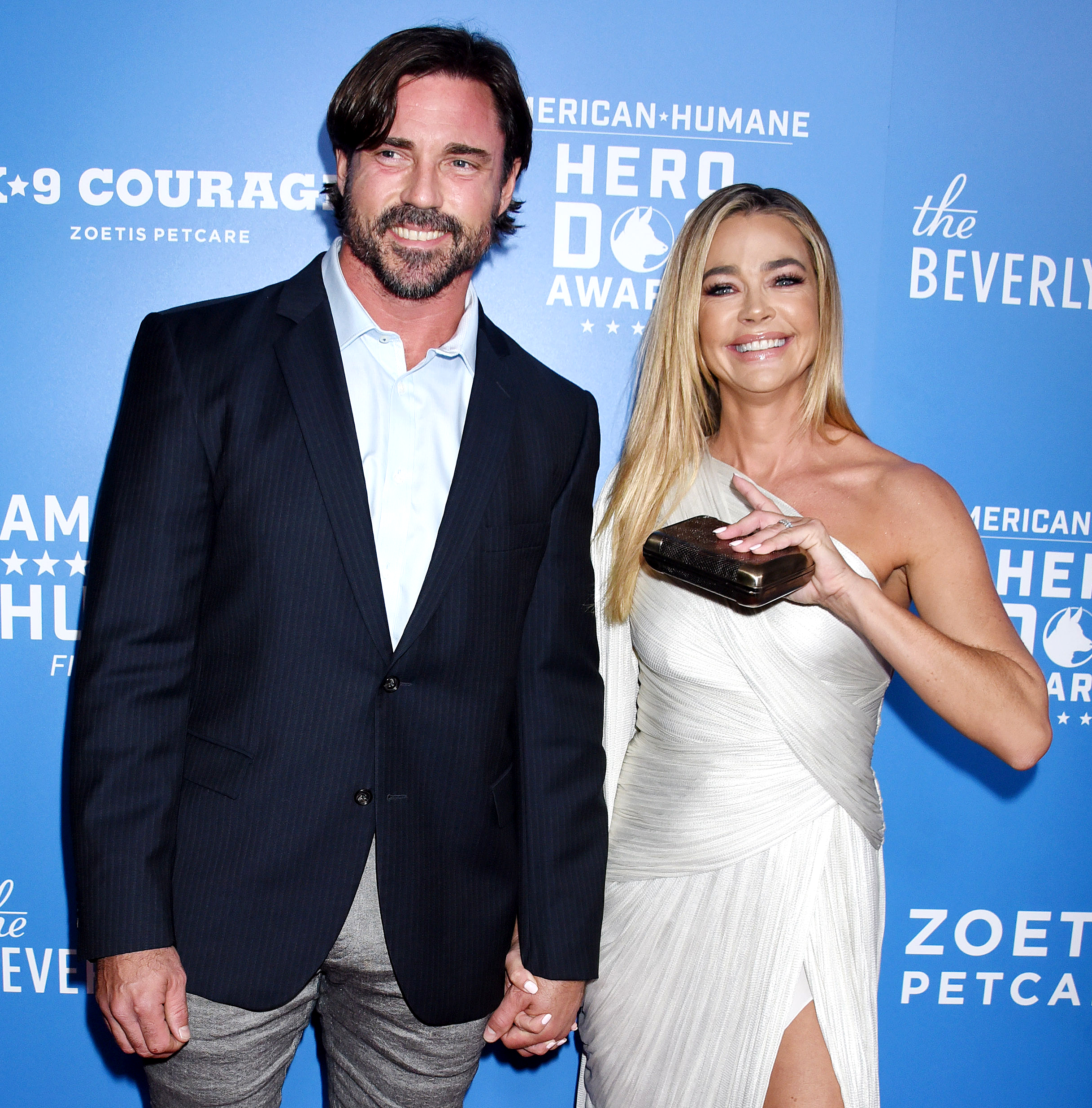 """Denise Richards Quotes About Husband Aaron Phypers - Denise shocked her costars in the May 7 episode of RHOBH when she admitted she had hunted down a masseuse who would perform a happy ending on her husband. """"Aaron had never had a happy ending, and we were on the hunt,"""" she said, adding, """"I wanted him to have one."""" """"You wanted him to get a massage with a happy ending?"""""""