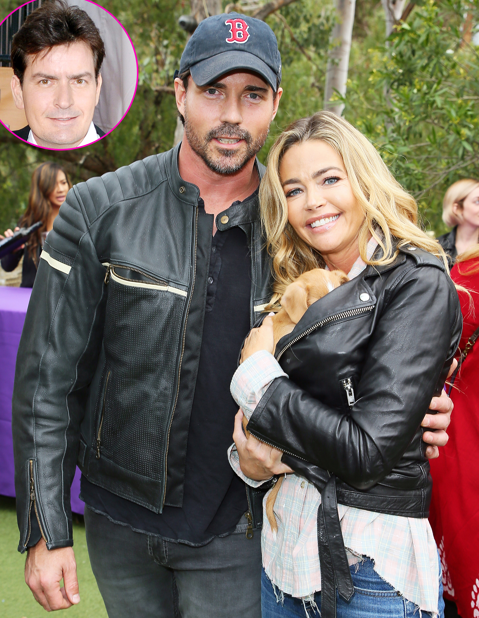 """Denise Richards Quotes About Husband Aaron Phypers - On the March 26 episode of RHOBH , Denise sounded off about her wedding day to Phypers, noting that she didn't care who her ex-husband, Charlie Sheen , brought to their nuptials. """" Even if he did bring a prostitute as his date, I wouldn't care. It's just, it is what it is,"""" she said."""