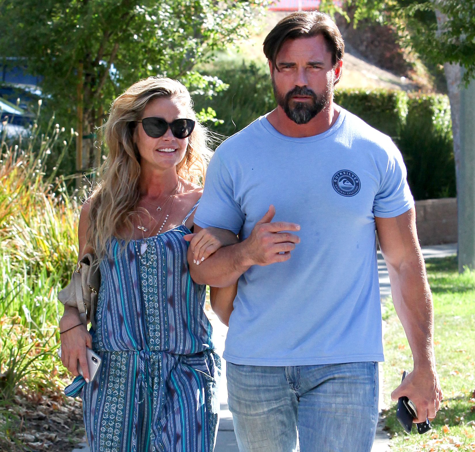 """Denise Richards Quotes About Husband Aaron Phypers - When Phypers objected to Denise's comments about the size of his manhood, his wife theorized that he """"secretly"""" enjoyed it. """"What guy wouldn't want their woman to talk about the size of their c–k?"""" she said during a May 15 aftershow."""