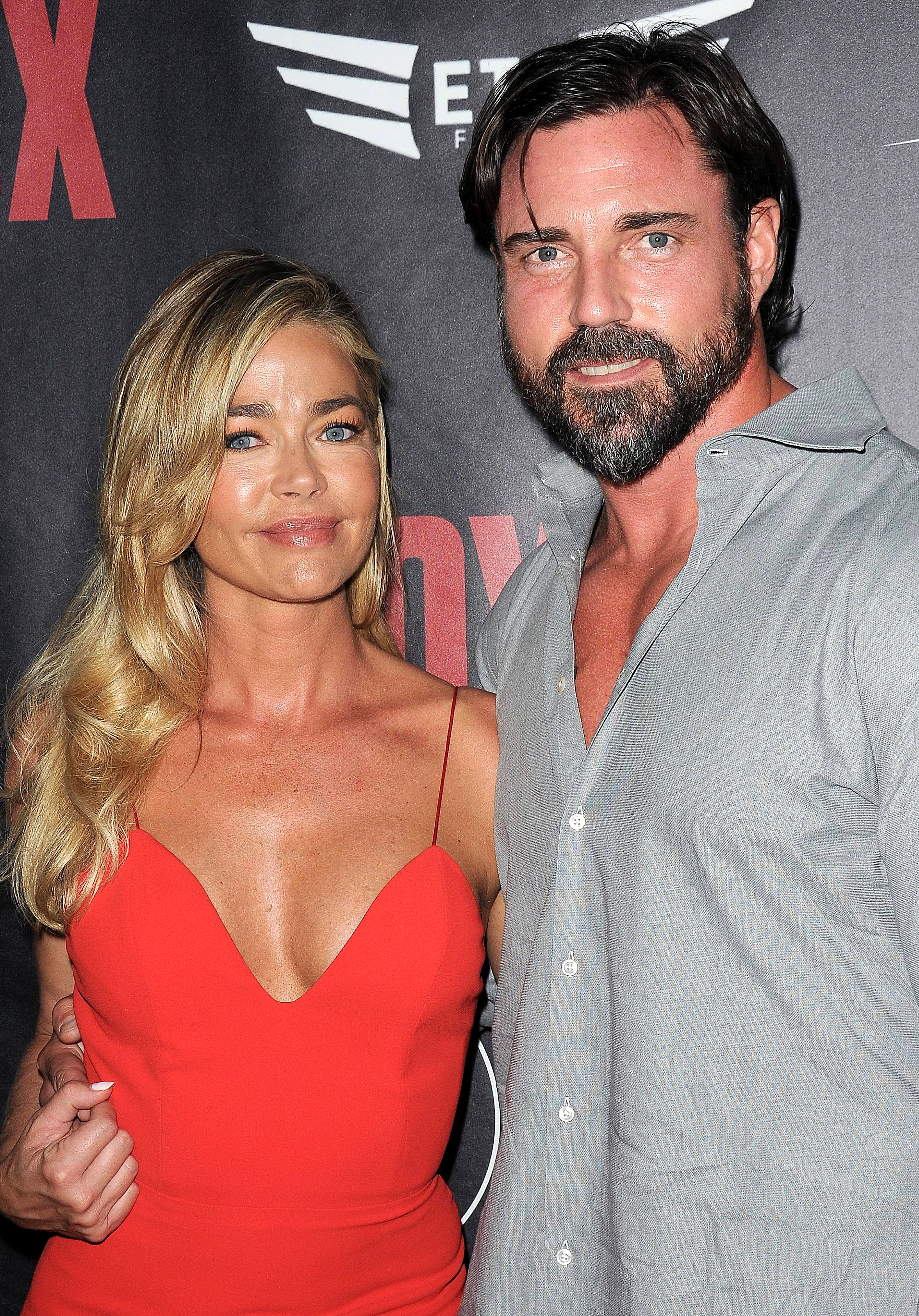 """Denise Richards Quotes About Husband Aaron Phypers - Denise revealed her first impression of her man on a March 12 episode of the show after Lisa asked if they had instant attraction. """"I thought he was cute and I wanted to f--k him,"""" she said."""