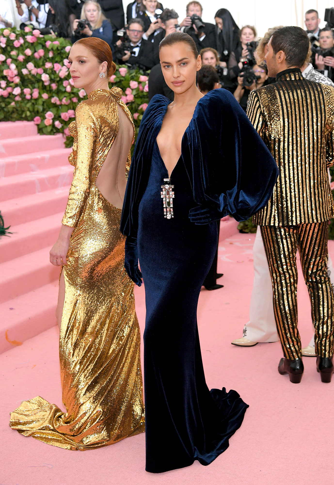 Bradley Cooper Did Not Attend the Met Gala 2019 With Irina Shayk - Irina Shayk attends The 2019 Met Gala Celebrating Camp: Notes on Fashion at Metropolitan Museum of Art on May 06, 2019 in New York City.