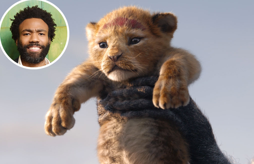 Donald Glover Simba Lion King Voice Over Disney and Pixar Characters - Simba in The Lion King (2019)