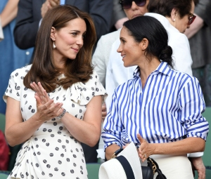 Duchess Meghan Duchess Kate Bonding Over Motherhood