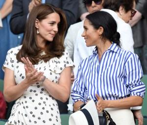 Duchess Meghan Duchess Kate Bonding Over Motherhood