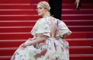 Elle Fanning Faints at Cannes Dinner Party — and Colin Firth Comes to Her Rescue!