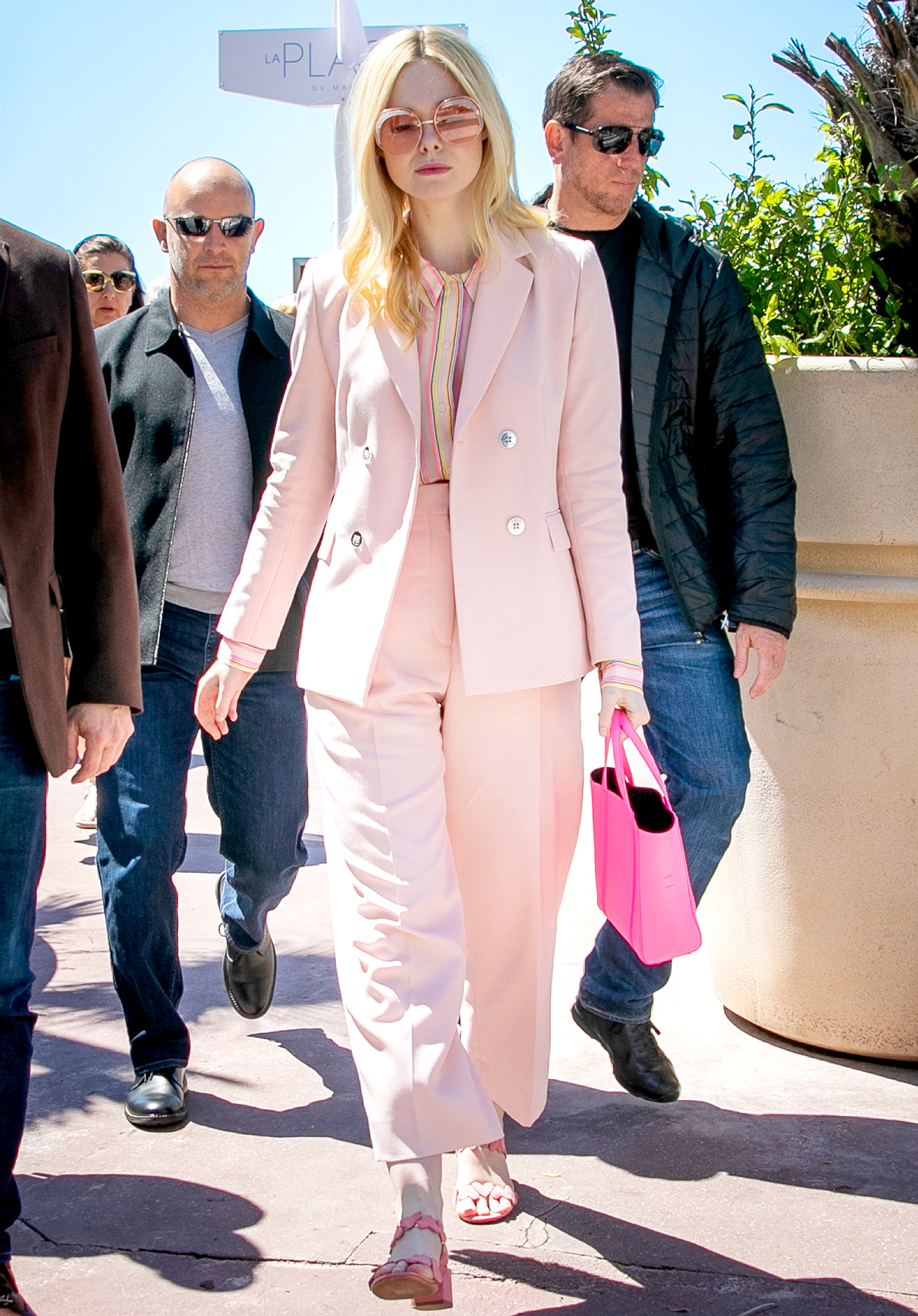 Elle-Fanning - The jurist was pretty in head-to-toe pink on Wednesday, May 15.