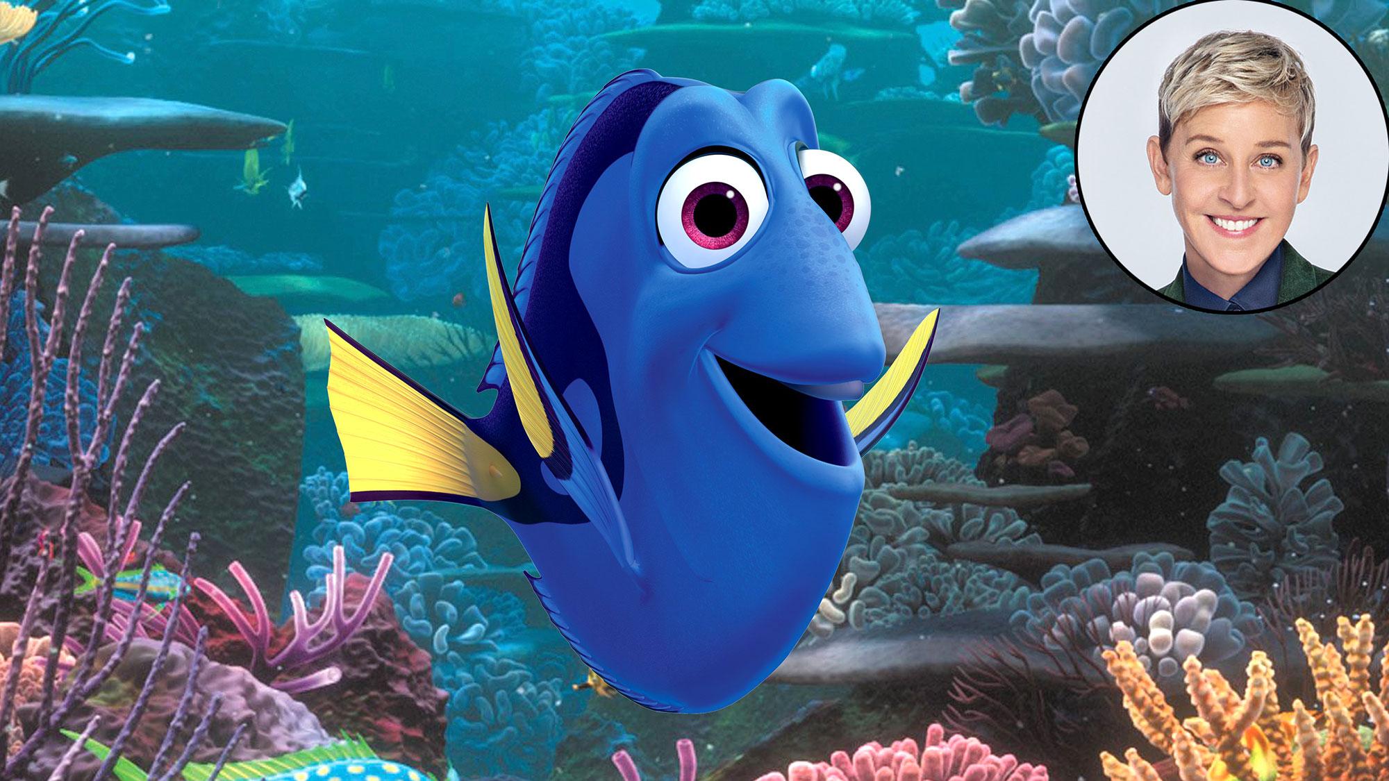 Ellen DeGeneres Finding Dory Voice Over Disney and Pixar Characters - Dory in Finding Nemo (2003)