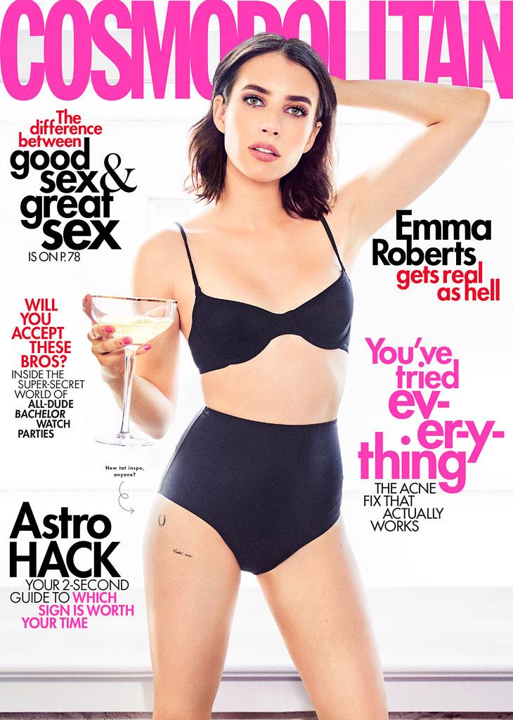 Emma Roberts Cosmopolitan Cover 2019
