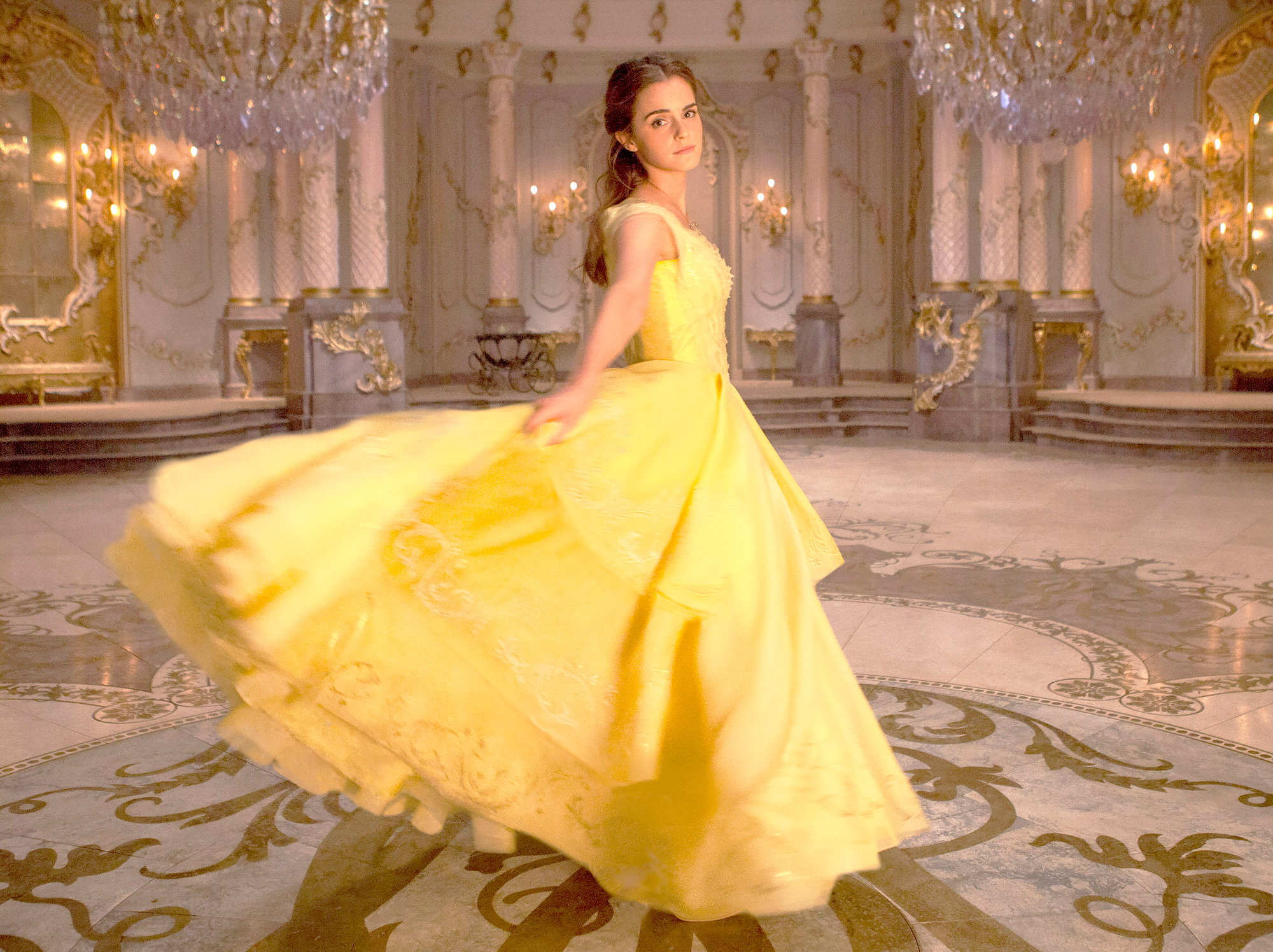 Emma-Watson-as-Belle - Watson set the bar for live-action Disney princesses in 2017 when she played a flawless rendition of the beautiful and book smart Belle.