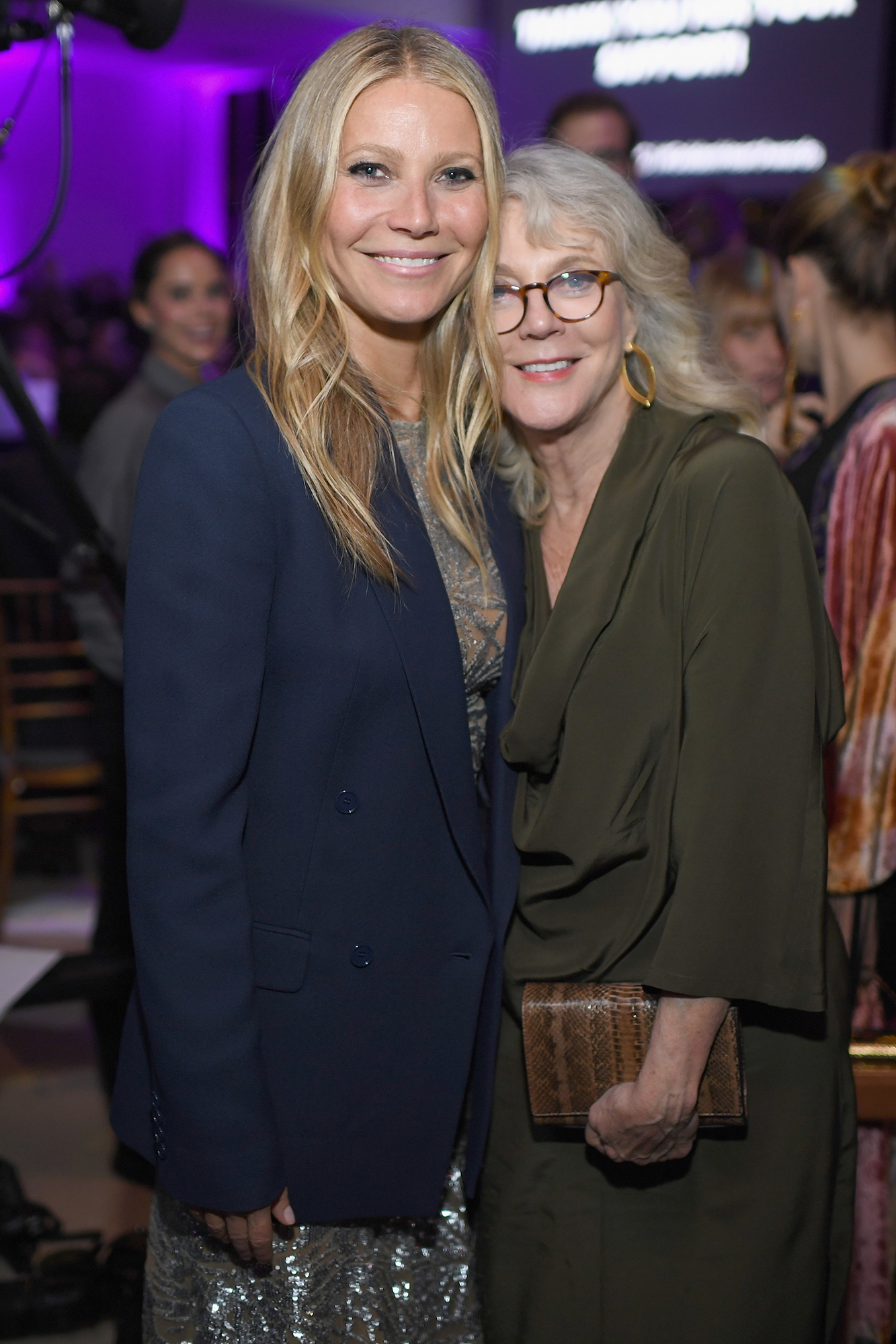 "Famous Mother-Daughter Pairs - On Paltrow 's weekly ""goop"" podcast, her mom admitted that she was ""hard"" on her when they acted in The Seagull together. ""It came so damn easily to you and I thought you had to sweat blood and tears to give a great performance and you never did,"" Danner explained."