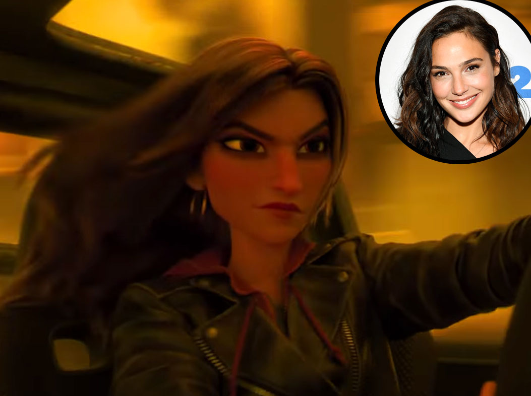 Gal Gadot Shank Ralph Breaks the Internet Voice Over Disney and Pixar Characters - Shank in Ralph Breaks the Internet (2018)