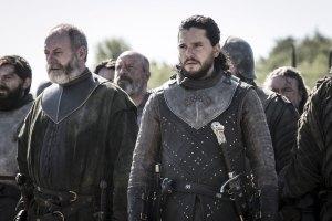 Game of Thrones Season 8 Episode 5 Davos Seaworth Jon Snow