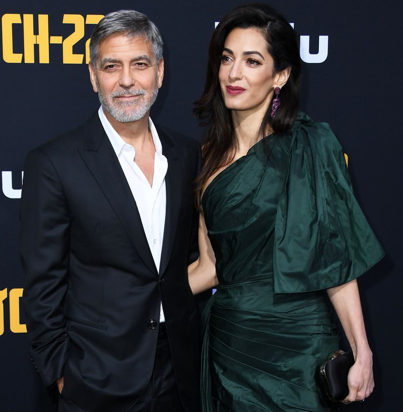 Everything We Know George and Amal Clooney Have Said About Parenthood George-Clooney-Amal-Clooney