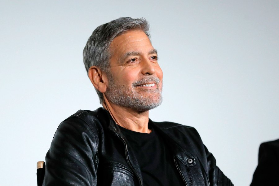George Clooney Off of Motorcycles Catch 22