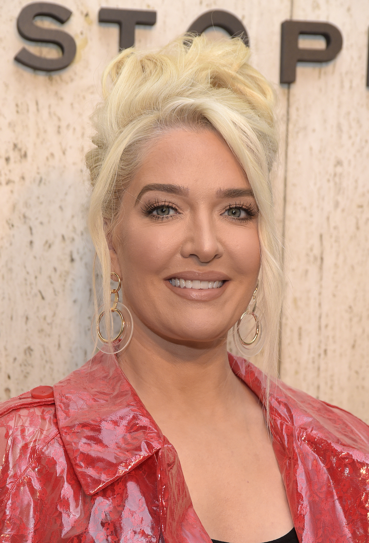 Erika Jayne, Real Housewives of Beverly Hills, RHOBH - Erika Jayne attends Christopher Kane's party at Giorgio's on April 29, 2019 in Los Angeles.