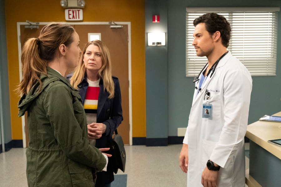 'Grey's Anatomy' Recap: DeLuca Takes the Fall for Meredith