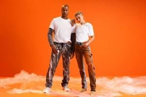 Hailey Bieber Levi's x Heron Preston Denim Campaign