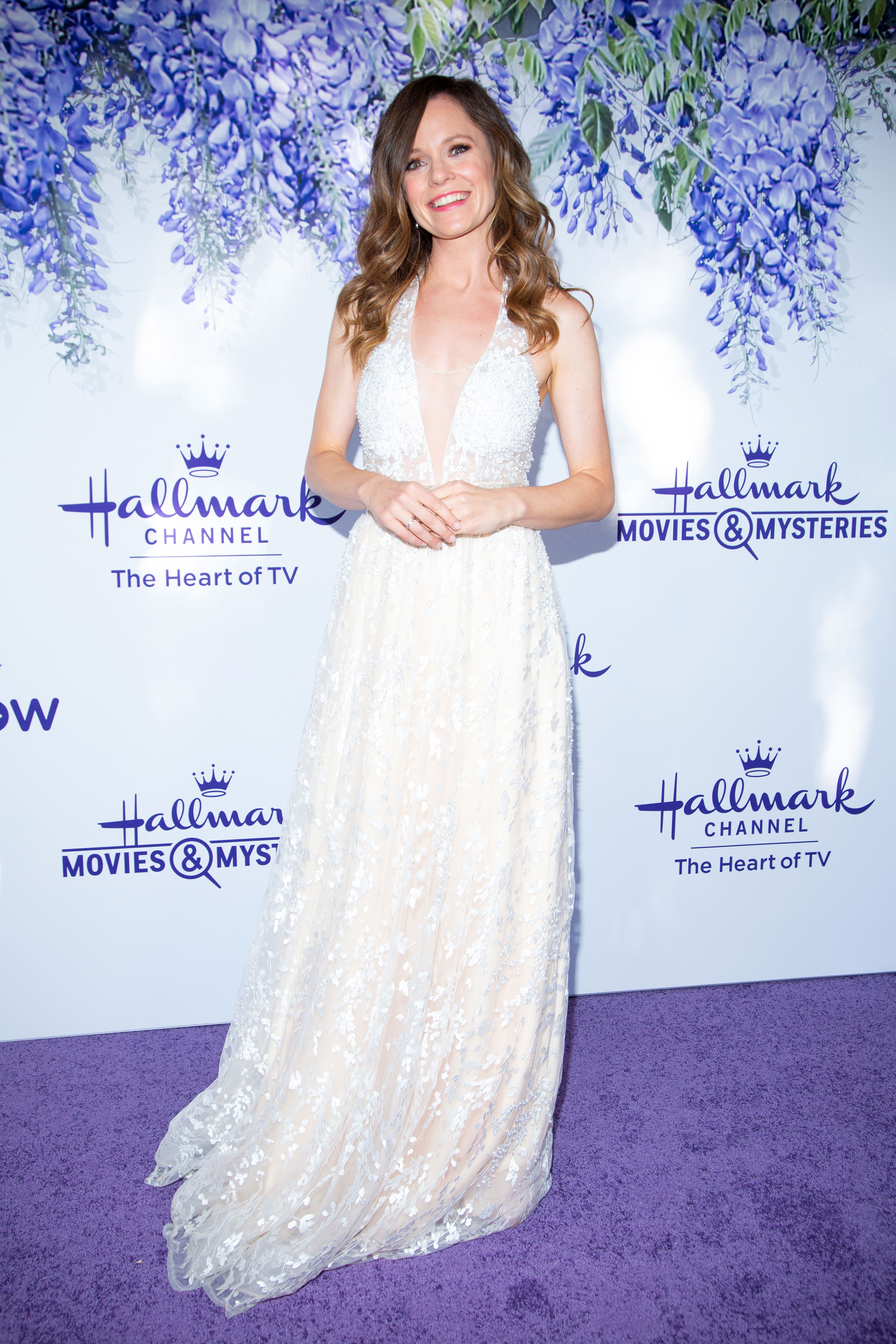 Rachel Boston Hallmark Announces June Weddings Lineup THE LAST BRIDESMAID - Rachel Boston 's Becca is always a bridesmaid, so she's shocked to meet two men at her cousin's wedding – the videographer (played by Paul Campbell ) and the best man! (June 22, 9 p.m. ET)