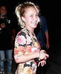Hayden Panettiere and Brian Hickerson Tumultuous Relationship Jokingly proposes