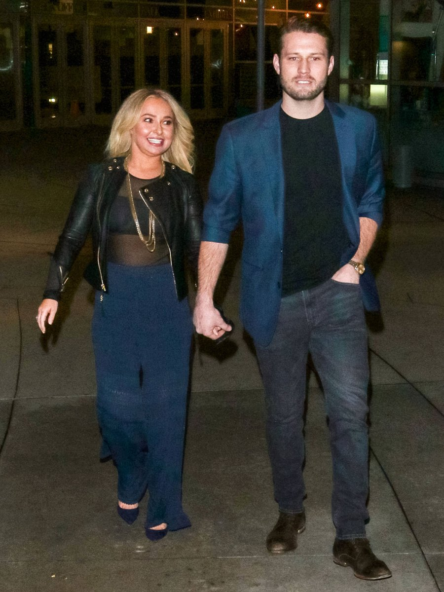 Hayden Panettiere and Brian Hickerson Tumultuous Relationship Protective order