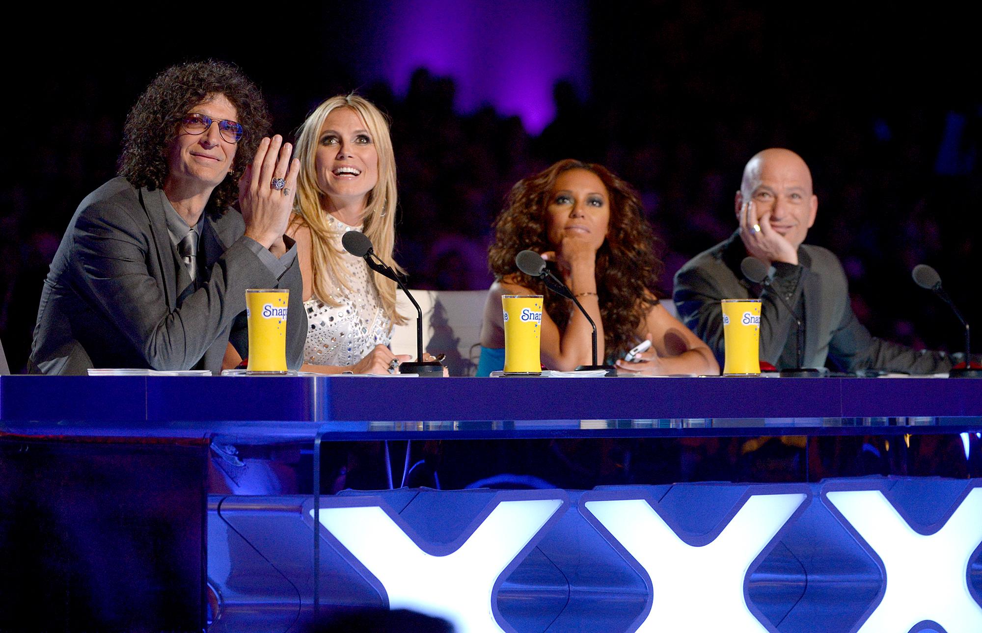 Howard-Stern,-Heidi-Klum,-Mel-B,-Howie-Mandel-Americas-Got-Talent