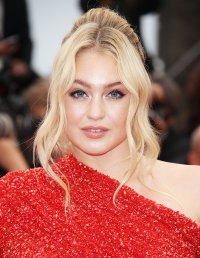 Iskra Lawrence Warm Goddess Look Cannes Film Festival