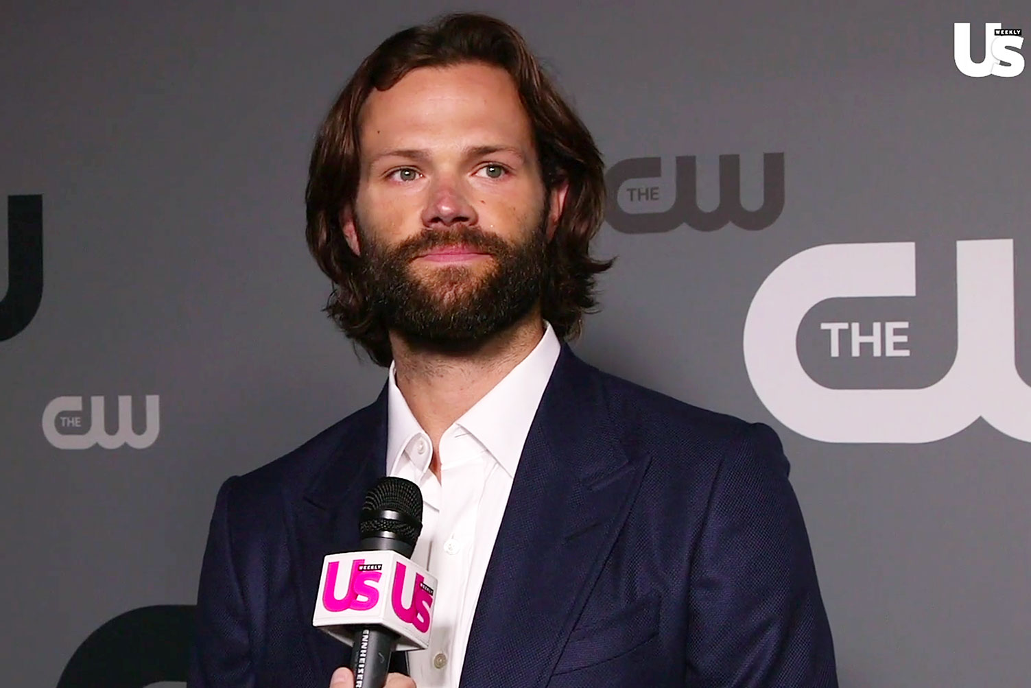 Jared Padalecki Tears Up Over the End of 'Supernatural': Video