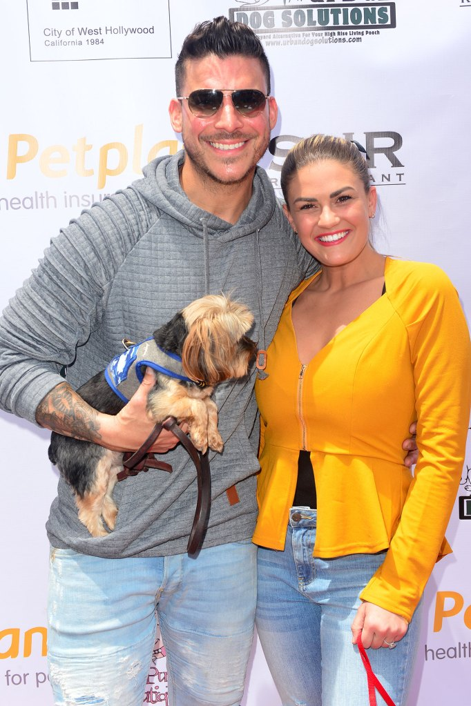 Jax Taylor and Brittany Cartwright World Dog Day Honor Late Father