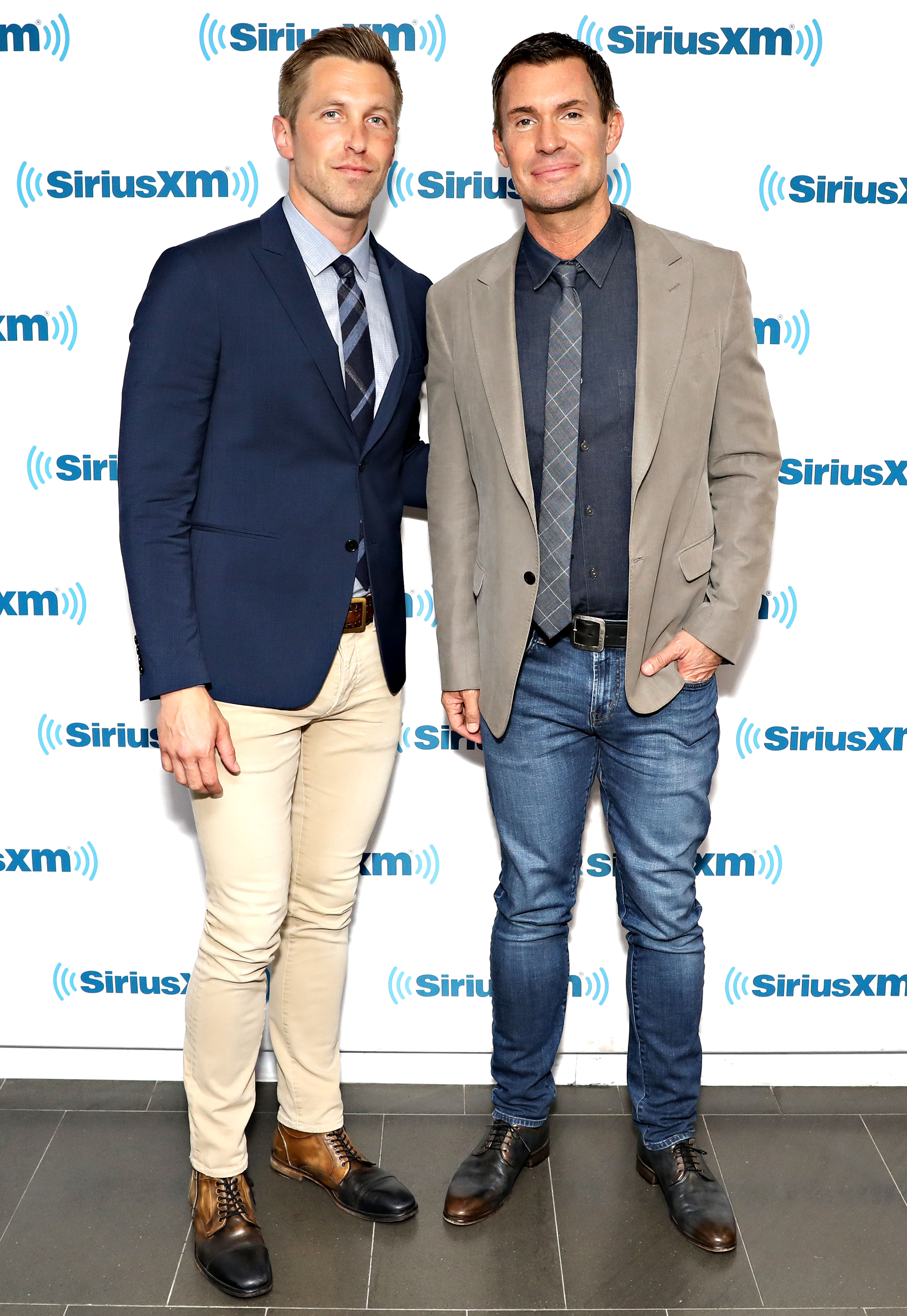 Jeff Lewis Discusses Visitation Schedule With Ex Gage Edwards - Gage Edward and Jeff Lewis visit the SiriusXM Studios on June 8, 2018 in New York City.
