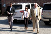 Jenelle Evans and David Eason Arrive at Court Together Before Custody Hearing for Kids