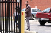 Jenelle Evans and David Easona Leave Court Holding Hands