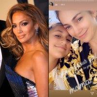 Jennifer Lopez No Makeup Selfies