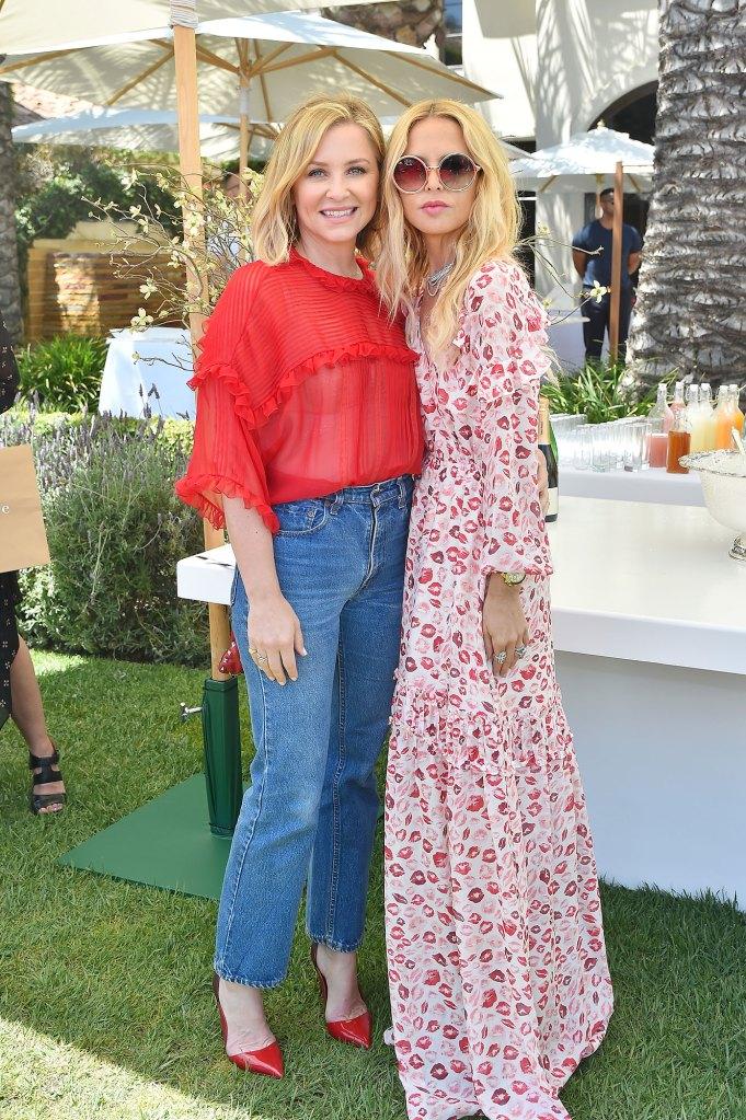 Online VIP Jessica Capshaw and Rachel Zoe