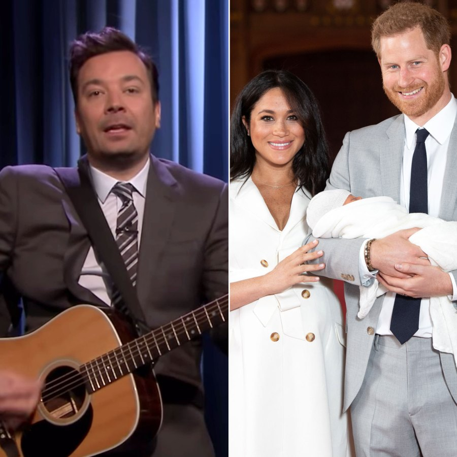 Jimmy Fallon Dedicates Song to Harry and Meghan's Son Archie