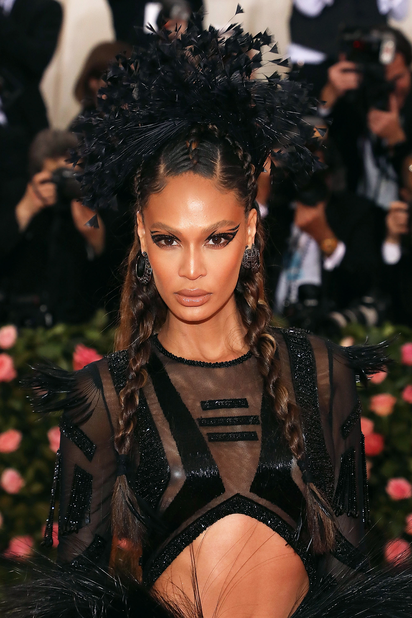 """Joan Small's Makeup Pro Patrick Ta Talks Met Gala - Joan Smalls attends the 2019 Met Gala celebrating """"Camp: Notes on Fashion"""" at The Metropolitan Museum of Art on May 6, 2019 in New York City."""
