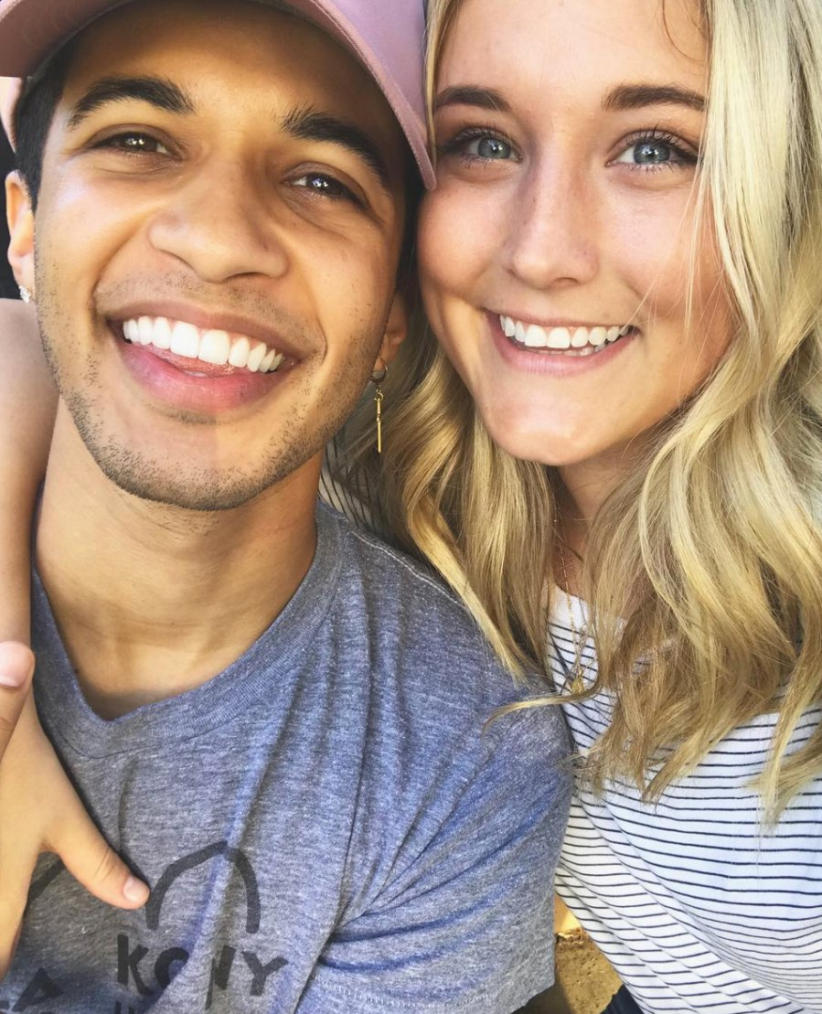 Jordan-Fisher-and-Ellie-Woods engaged