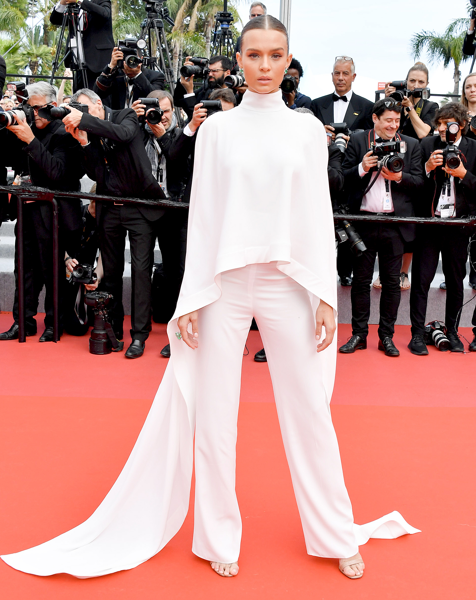 Josephine-Skriver - The model was white hot on the Oh Mercy! red carpet in Ashi Stufio on Wednesday, May 22.