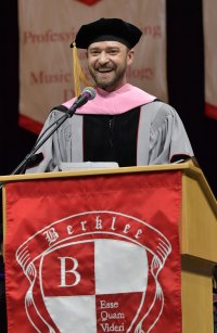 Justin Timberlake Stars With Honorary Degrees