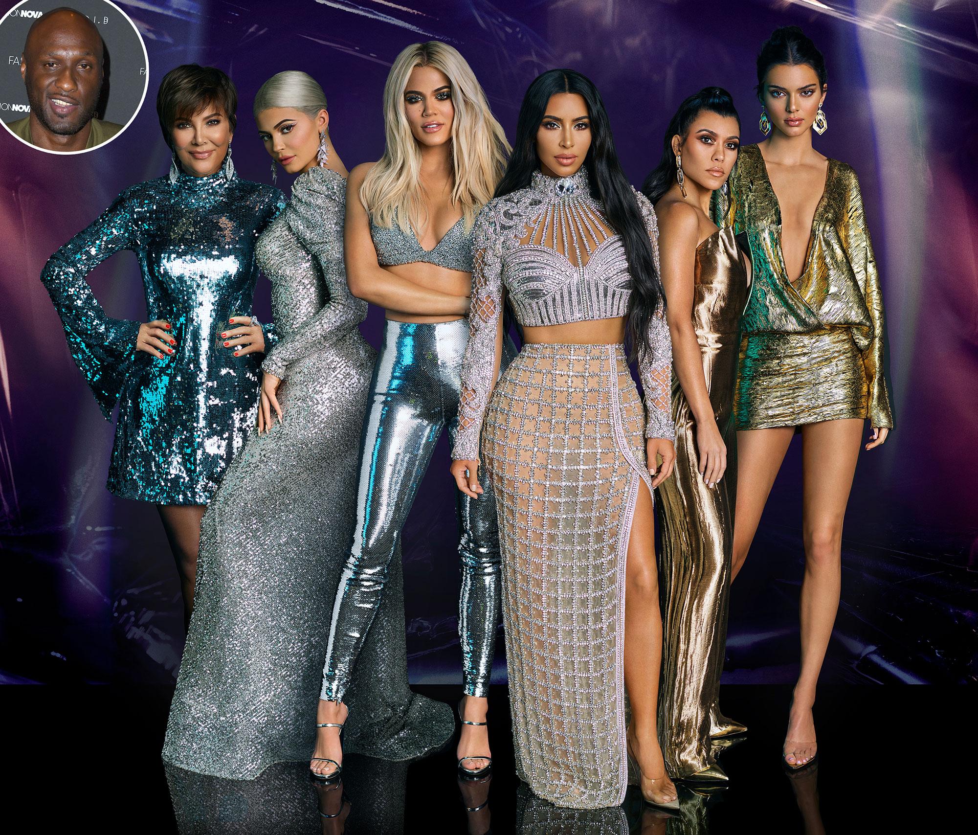 Kardashians Not Worried About Lamar Odom Book - The Kardashians and Lamar Odom