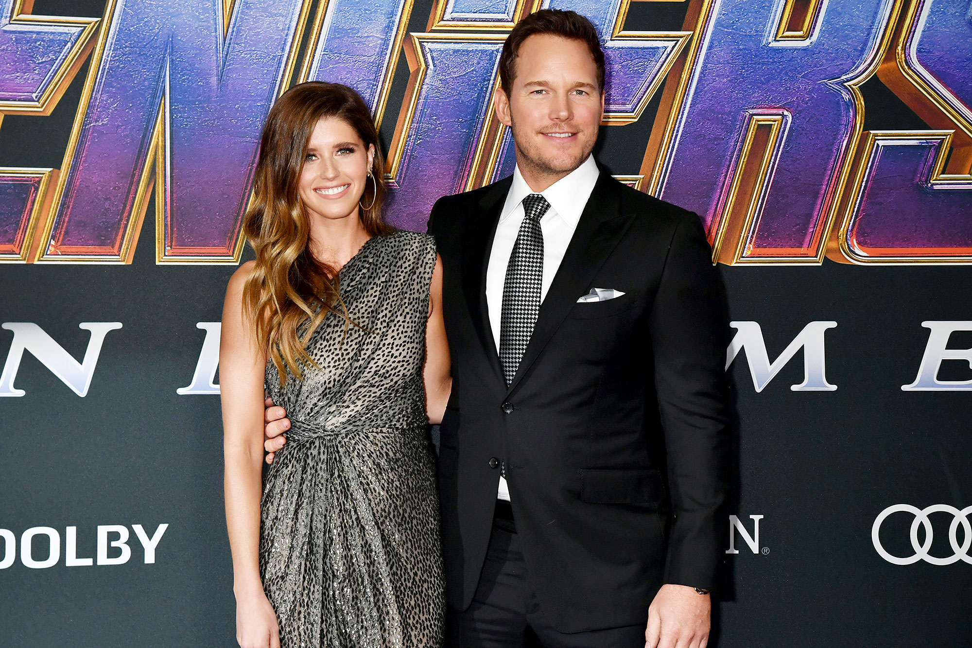 Katherine Schwarzenegger Chris Prat Ex Wife Anna Faris