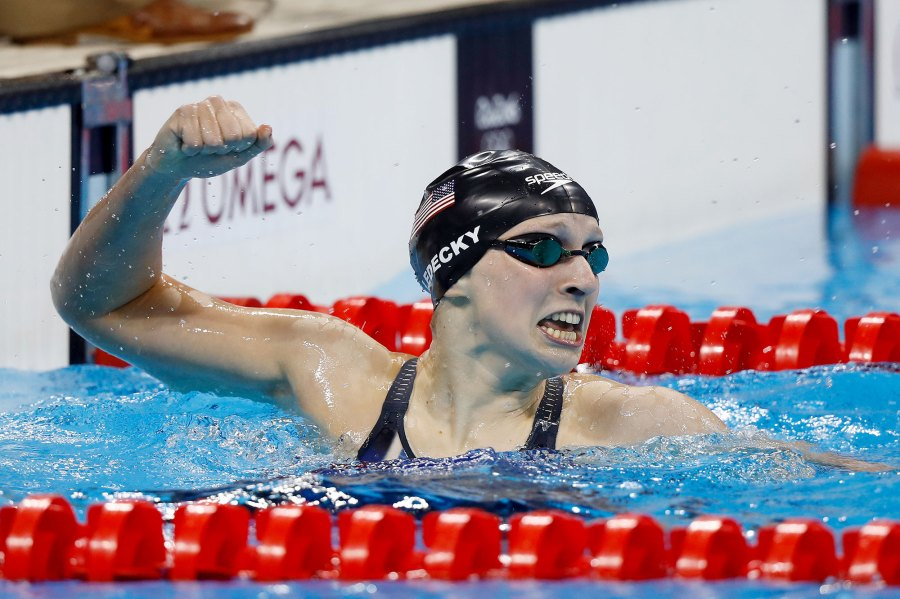 Katie Ledecky Then Olympic Athletes Where Are They Now
